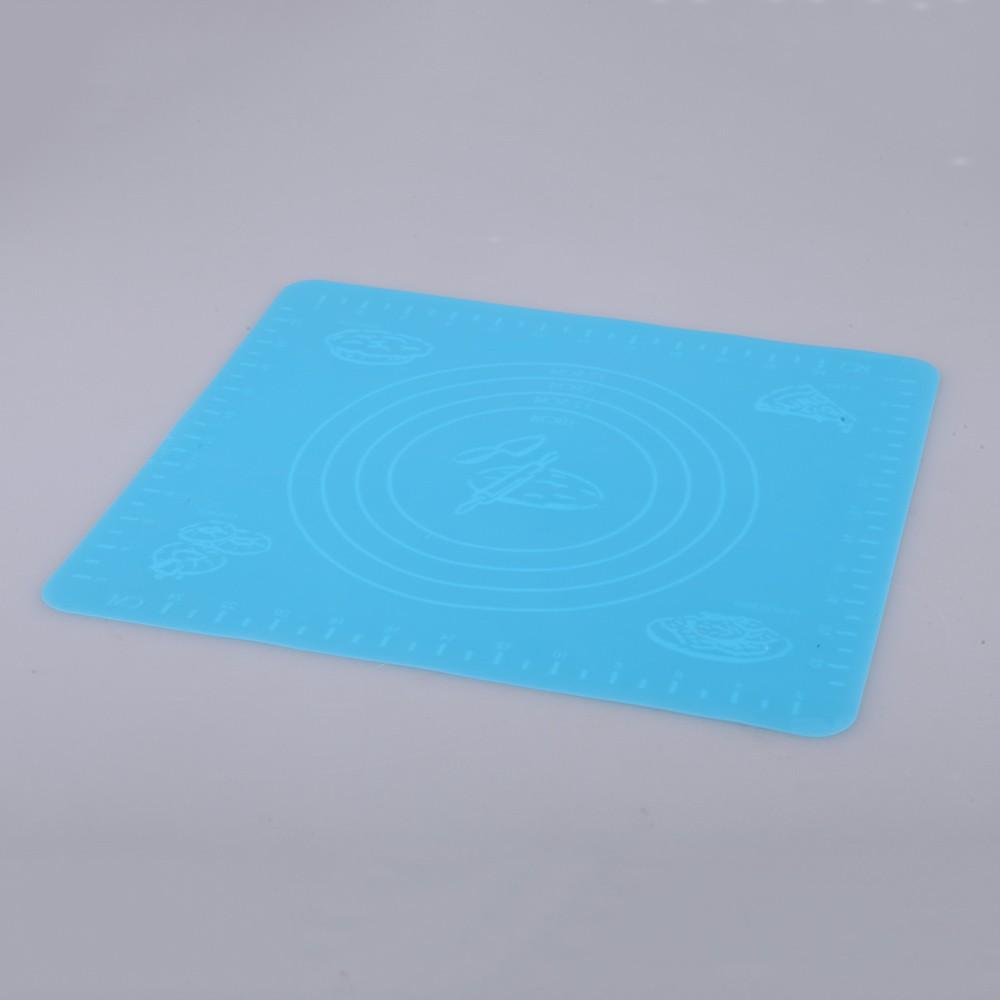 feuille p tisserie carr avec chelle de mesure en silicone pour d coration diy de g teau bleu. Black Bedroom Furniture Sets. Home Design Ideas