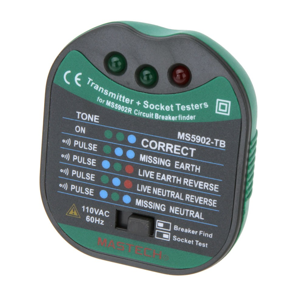 Mastech Ms5902 Automatic Circuit Breaker Finder Socket Tester W Finders Analogue Receiver Flashlight Sales Online Tomtop