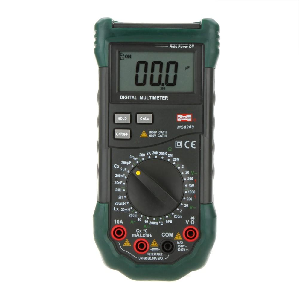Lcr Meter Resistance : Mastech ms handheld digital multimeter lcr meter