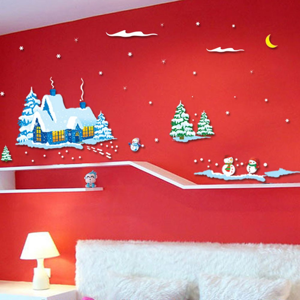Новогодние картинки на стену