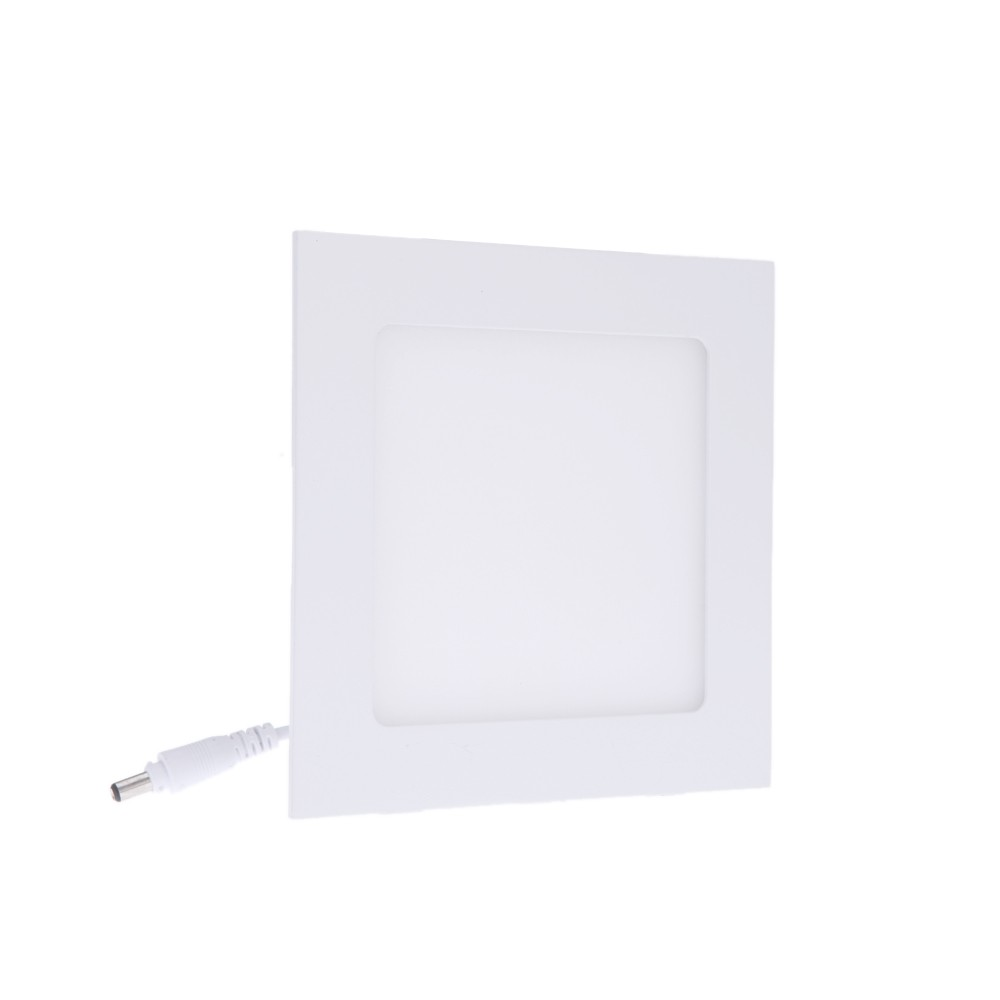 9w square led recessed ceiling panel light down lamp ultra t