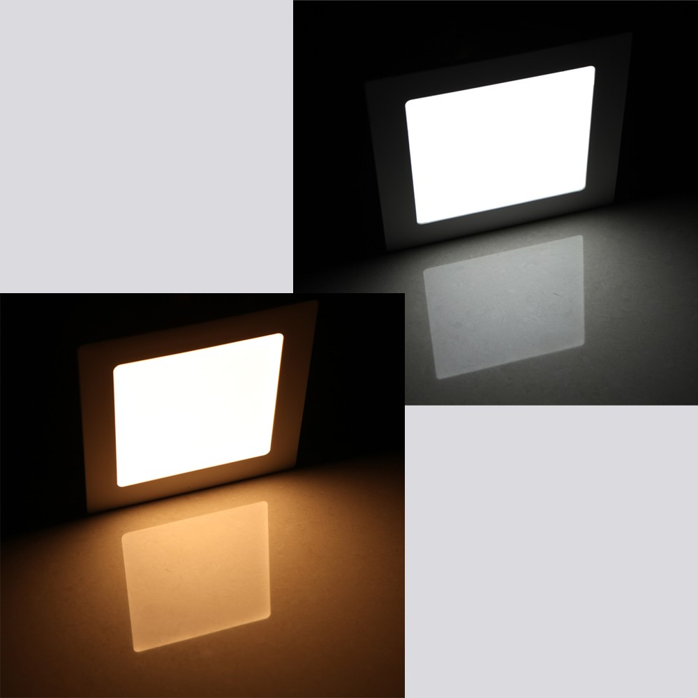 12w square led recessed ceiling panel light down lamp ultra