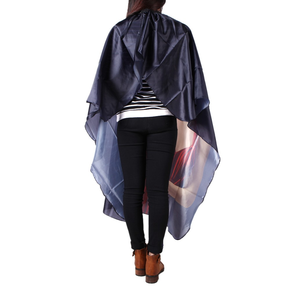 Hair Salon Cutting Barber Hairdressing Cape For Haircut Hairdresser A Nylon Cloth Styling Tool S Online Black Tomtop