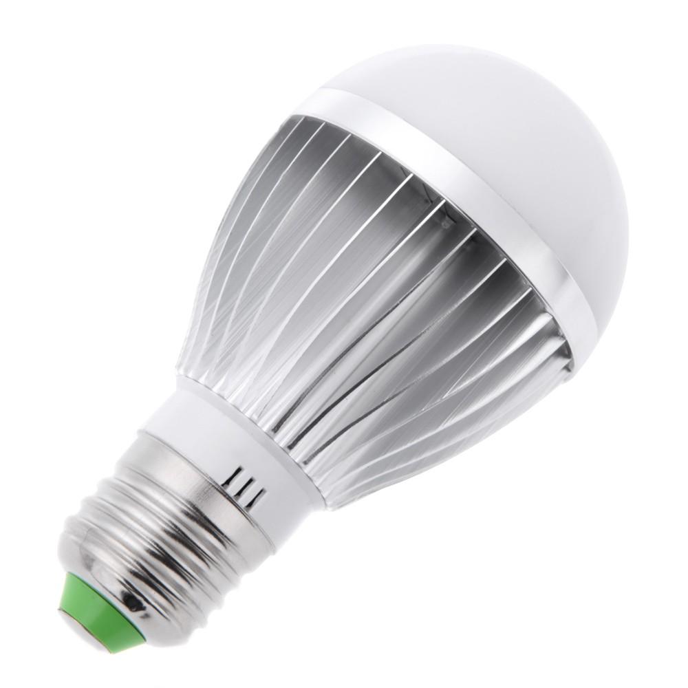 lixada e27 5w capteur de lumi re sons d tection automatique led lampe ampoule ac85 265v 5w. Black Bedroom Furniture Sets. Home Design Ideas