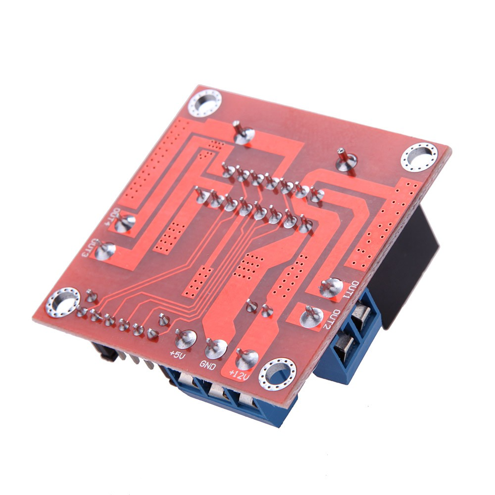 Dc 5v L298n Stepper Motor Drive Controller Board Module Dual H Driver Circuit Bridge For Arduino Smart Car Robot Sales Online Tomtop