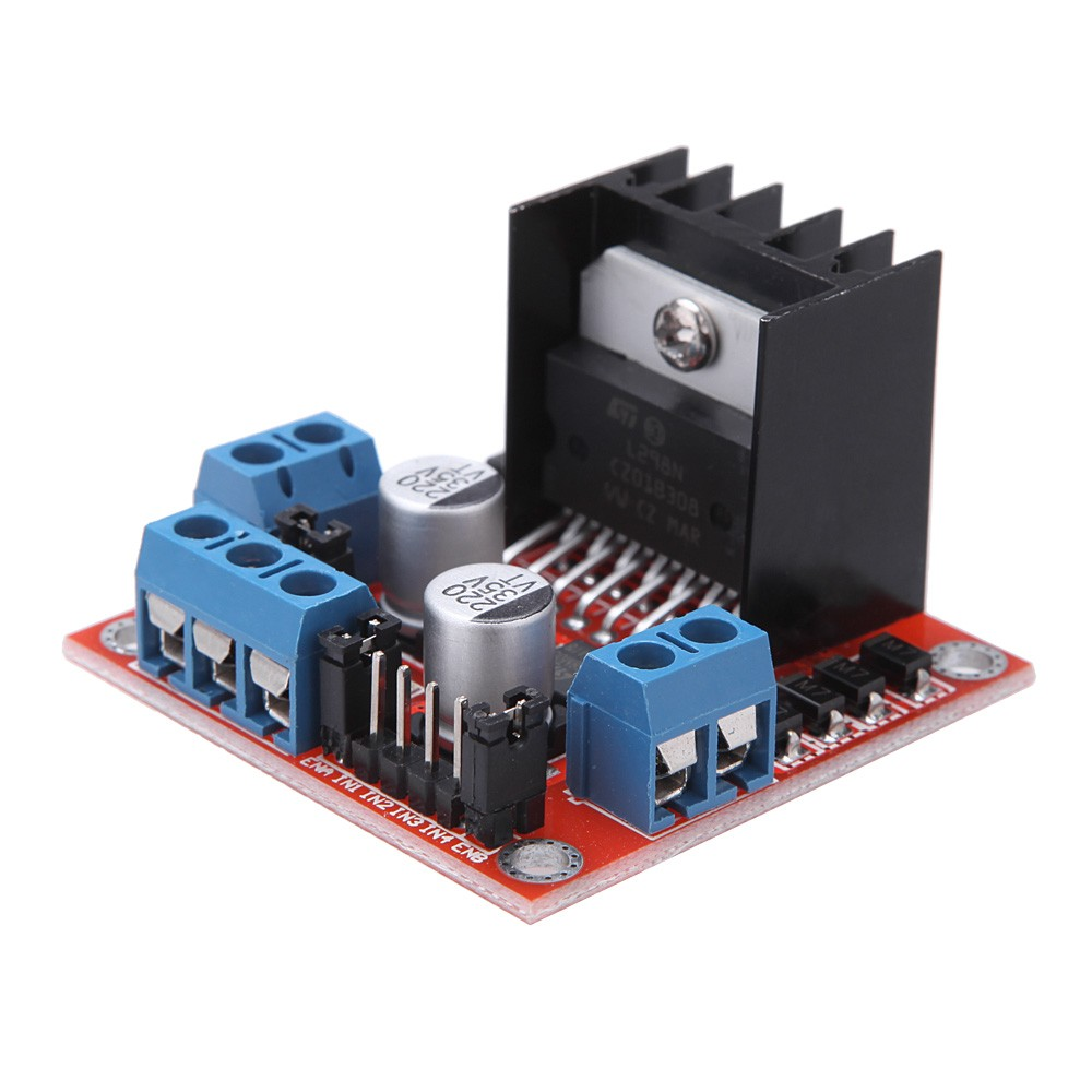 Dc 5v L298n Stepper Motor Drive Controller Board Module Dual H Driver Circuit Bridge For Arduino Smart Car Robot Sales Online Tomtop