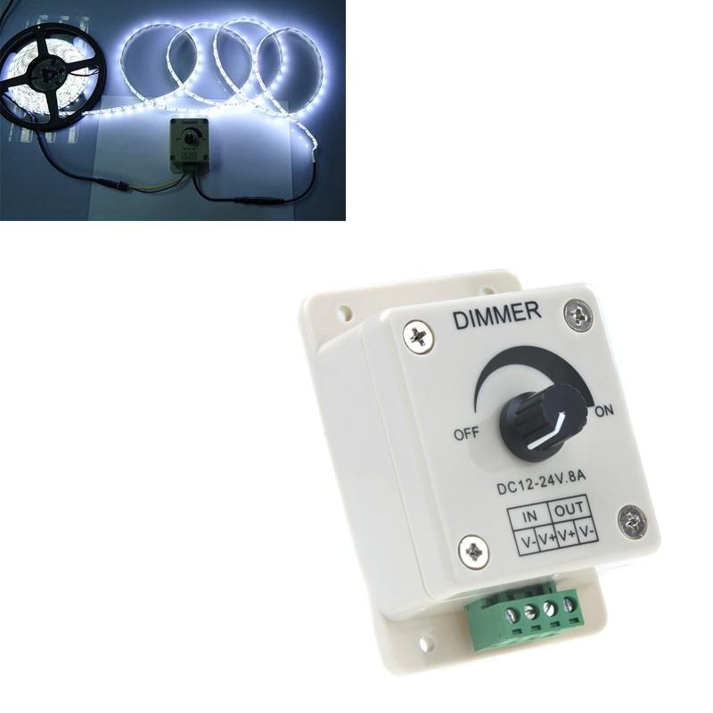 Lixada 12 24v controlador de led regulador de intensidad - Regulador intensidad luz ...