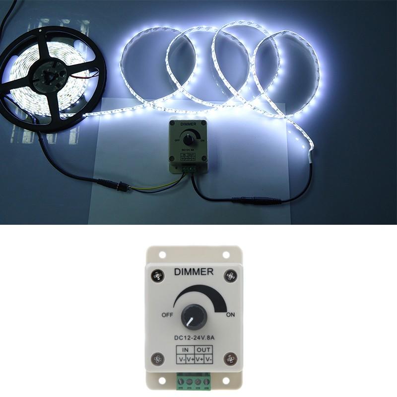 Lixada 12 24v controlador de led regulador de intensidad for Regulador para bombillas led