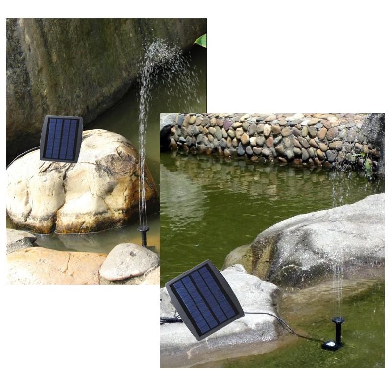 Bomba de agua de energ a solar fuente decorativa para for Bombas de agua para estanques de jardin