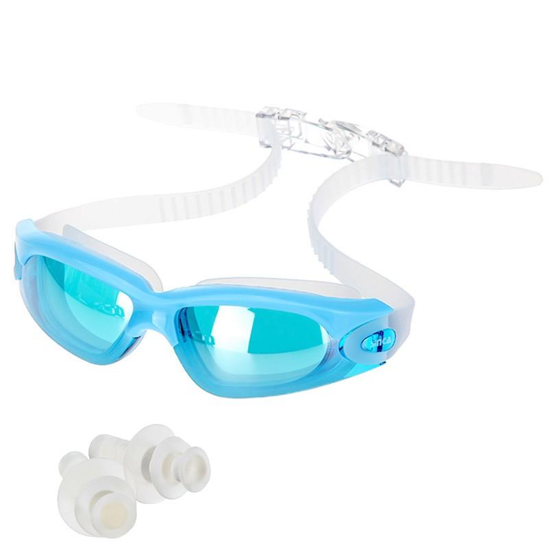 lunettes de de protection de natation anti brouillard avec des lentilles de pc couleur de noir. Black Bedroom Furniture Sets. Home Design Ideas