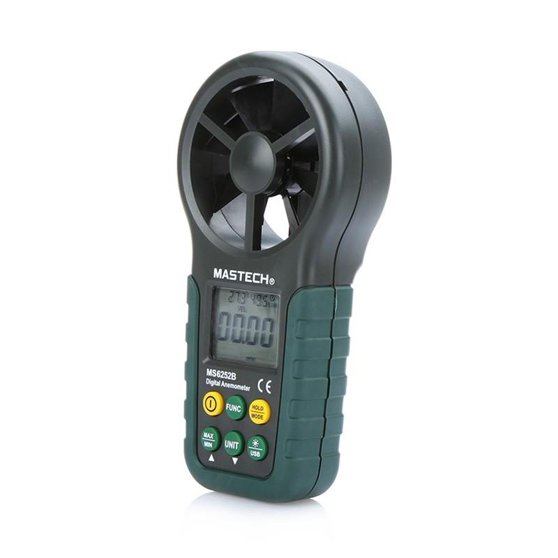 portable digital anemometer handheld lcd elektronische wind speed air band messen meter mit. Black Bedroom Furniture Sets. Home Design Ideas