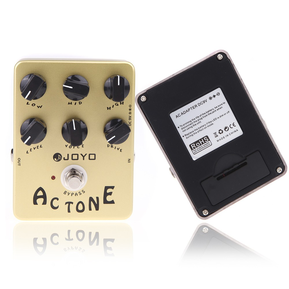joyo jf 13 ac tone vox amp simulator guitar effect pedal true bypass for sale us tomtop. Black Bedroom Furniture Sets. Home Design Ideas