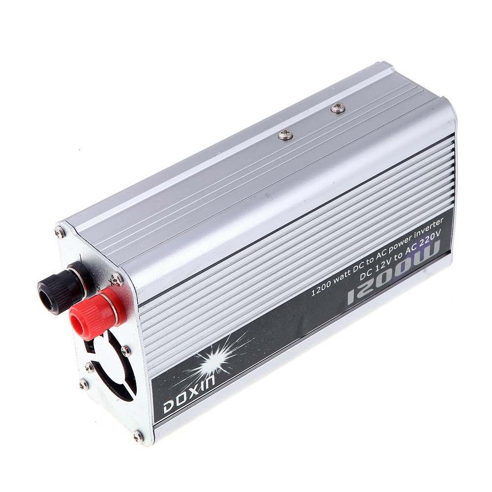 1200w Watt Dc 12v Bis 220v Ac Power Inverter Tragbare Auto Ladegert 12 Volt To Converter Transformer