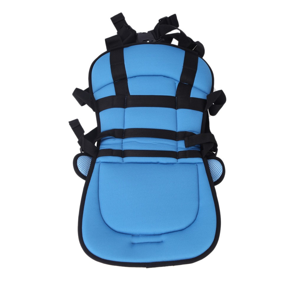 portable car safety booster seat cover cushion harness carrier for baby kids infant children. Black Bedroom Furniture Sets. Home Design Ideas