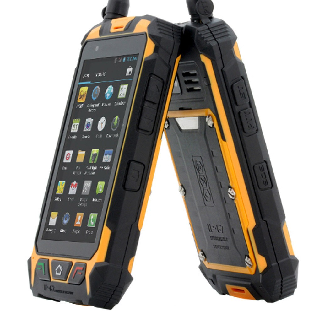 "4.5"" Rugged Smartphone Android 4.2 Dual Core Waterproof ..."