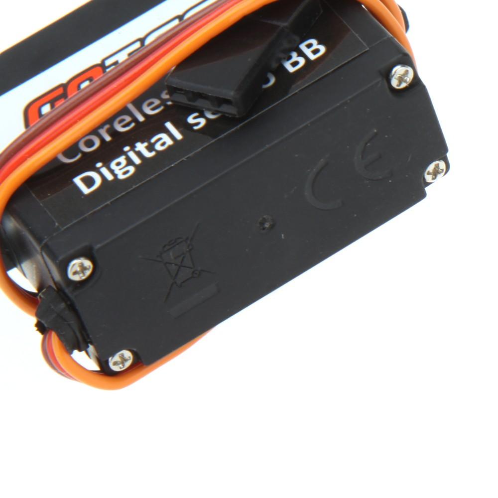 Elicottero 500 Rc : Goteck mg metal gear digital rc servo per align trex