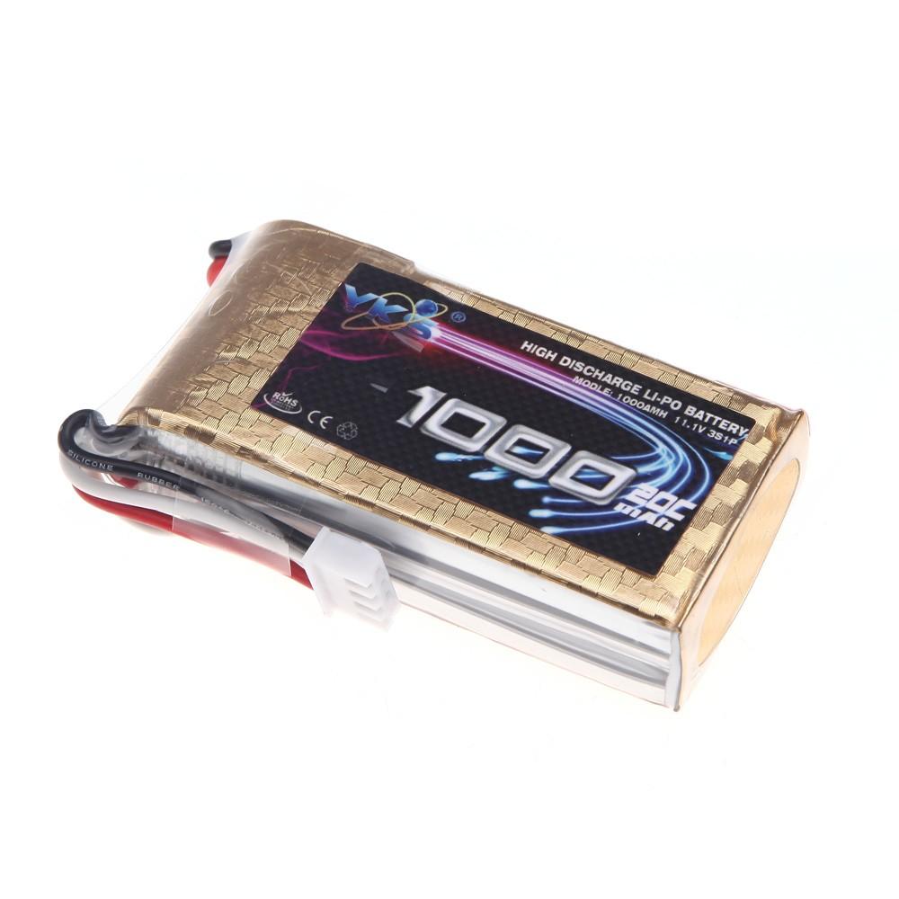 goolrc haute puissance yks lipo batterie 1000mah 11 1v 20c max 30c 3s jst fiche pour rc bateau. Black Bedroom Furniture Sets. Home Design Ideas