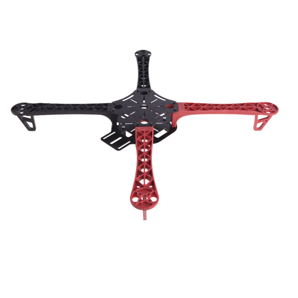 4Pcs Qudcopter Multicopter F450 F550 Frame Arm Red+Black For DJI F450 F550  Frame Arm flamewheel Part (Qudcopter Frame Arm,Multicopter Frame Arm,450