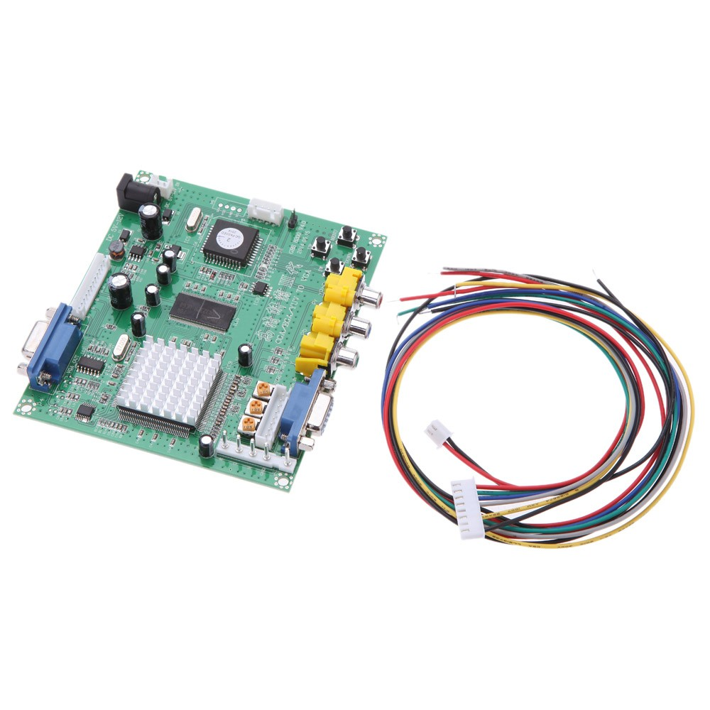 Portable Genuine Gbs8200 5v Active Low 1 Channel Relay Module Board Wiring A Cga Ega Yuv Rgb To Vga Arcade Game Video Converter For Crt Monitor Lcd Pdp