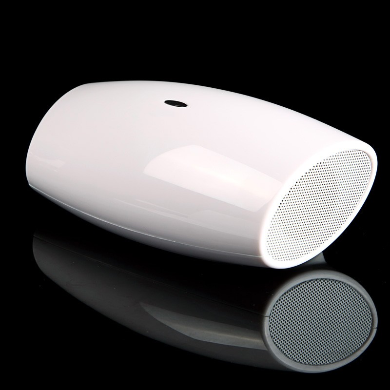 Portable Bluetooth Speaker Wireless Stereo Soundbox Amplifier LINE IN White