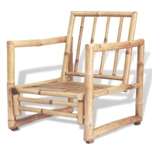 Nur 379.99€, Ensemble de mobilier de jardin Bambou - Interouge
