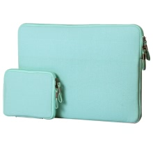 "11"" Portable Slim Carrying Notebook Sleeve Bag Case Cover Combo for MacBook/MacBook Air/Pro Laptop PC Ultrabook Tablet"