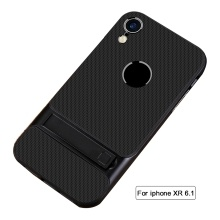 Protective Case Shock Proof Holder Phone Cover for i-phone Black i-phone XR