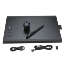 Huion New 1060PLUS Graphic Drawing Tablet with Digital Painting Rechargeable Pen