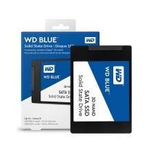 """Western Digital WD Blue 3D NAND 2TB 1TB 500GB 250GB PC SSD - SATA III 6Gb/s 2.5"""" Solid State Drive - WDS100T2B0A"""