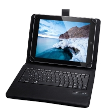 "Universal Detachable Wireless BT Keyboard Leather Case Cover for 9"" 10"" Tablet PC"