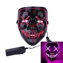 LED Cold Light Flash Grimace Fluorescent Mask Deals