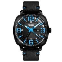 SKMEI Fashion Quartz Men Watches 3ATM Water-resistant Casual Man Wristwatch Male Date