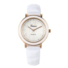 Quartz Watch Women Silicone Strap Wrist Watch Casual Female Clock
