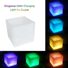 Deals on 3.5 L Gorgeous Color Changing Light Ice Bucket