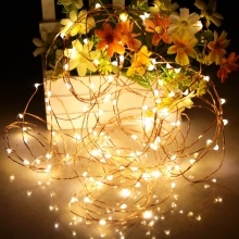 DC4.5V 0.3W 3 Meter 30 LEDs Fairy Kupfer String Light