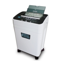 DSB Af-75 75-Sheet High Security Micro-Cut Paper/ CD/ Dvd/ Credit Shredder Auto/ Manual with 23L Wastepaper Basket for Office Work