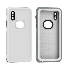 Dual-Use Phone Protective Case in Daily Life Waterproof Shock-Proof Mode Exchangeable Cover Snow-Proof Durable Phone Case Multifunctional Phone Cover for iPhone X