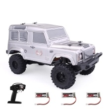 RGT 136240 1/24 2.4G 4WD 15KM/H RC Rock Crawler Off-road Buggy with 3 Batteries