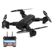 SG700-S 1080P Wide Angle Camera Optical Flow Positioning Wifi FPV Altitude Hold Gesture Controlled Foldable RC Training Drone for Kids
