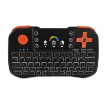 TZ10 2.4GHz Wireless QWERTY Keyboard Touchpad Mouse