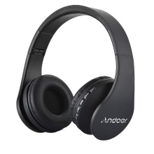Andoer LH-811 Foldable 4 in 1 Wireless BT EDR Headset with Mic