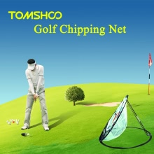 price historyTOMSHOO Portable 20 inch Golf Training Chipping Net Hitting Aid Practice Indoor Outdoor Bag on tomtop