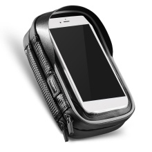 Bike Phone Bag Top Tube Bag Cycling Front Frame Bag Phone Holder Touch Screen Bike Phone Pouch