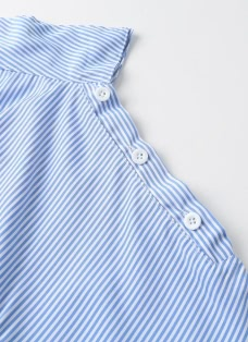 Fashion Striped Slash Neck Half Sleeve Belt Women's Dress