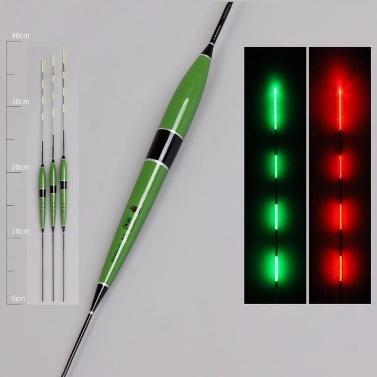 37.5cm Bite hook color change luminous drifting electronic fish float