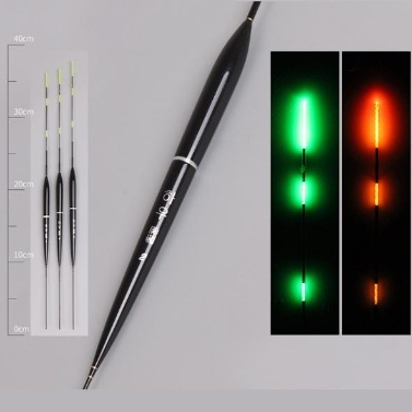 3pcs Smart Fishing Float Bissanzeiger Fisch Led Light Float + 3 cr425 Batterie