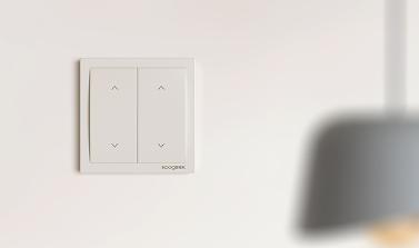 Interruttore a parete dimmer per illuminazione intelligente Wi-Fi Koogeek 2 Gang