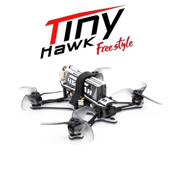 EMAX Tinyhawk Freestyle 115mm Racing Drone 2.5inch Propeller F4 5A ESC Brushless Motor 600TVL FPV Racing RC Drone(BNFバージョン)