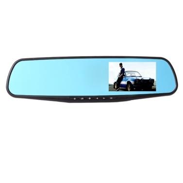 Gravação única de gravador de direção de espelho retrovisor de carro 1080P de 2,8 polegadas