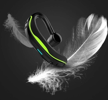 F600 business Bluetooth headset hanging ear wireless unilateral driving car sports running long standby listening song dark